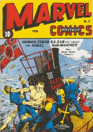 Marvel Mystery Comics - Image: Marvel Mystery Comics 4