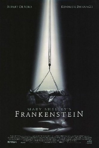 Mary Shelley's Frankenstein (film) - Image: Mary Shelley's Frankenstein (1994) theatrical poster