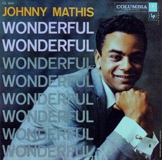 Wonderful Wonderful (Johnny Mathis album) - Image: Mathis Wonderful