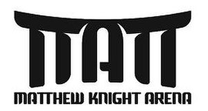 Matthew Knight Arena - Image: Matt knight logo