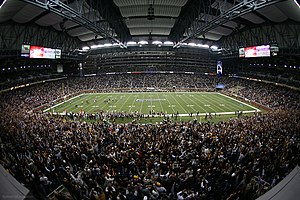 2007 Motor City Bowl - Image: Mcb 9forweb