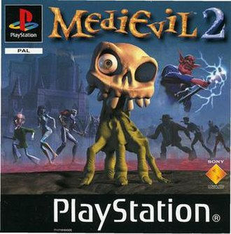 MediEvil 2 - European cover art