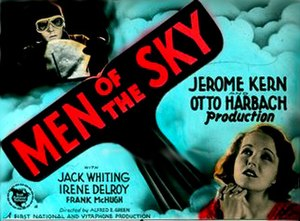 Men of the Sky (1931 film) - Film lobby card