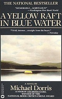 yellow raft in blue water essay