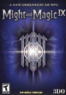 <i>Might and Magic IX</i> video game