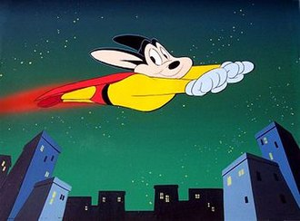 Mighty Mouse: The New Adventures - Mighty Mouse in Ralph Bakshi's adaptation