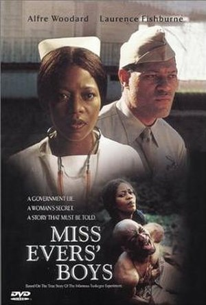 Miss Evers' Boys - DVD cover