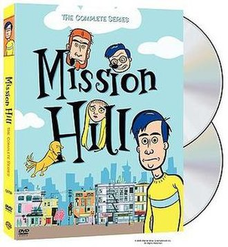 Mission Hill (TV series) - DVD cover