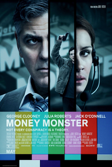Money Monster (2016) [English] DM - George Clooney, Julia Roberts, Jack O Connell