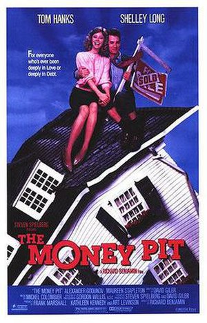 The Money Pit - Theatrical release poster