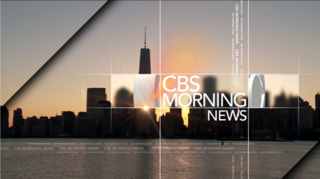<i>CBS Morning News</i> US television program