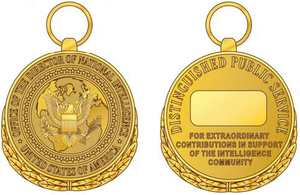 National Intelligence Distinguished Public Service Medal - Image: NIDPSM