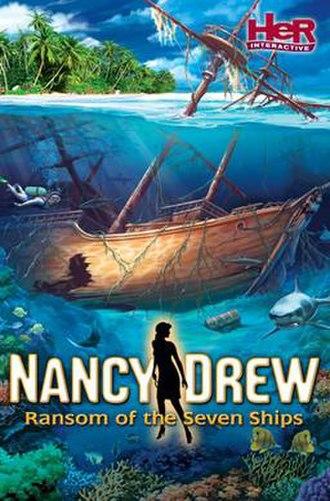Nancy Drew: Ransom of the Seven Ships - Image: Nancy Drew Ransom of the Seven Ship Cover Art