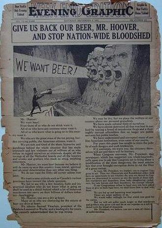 New York Graphic - Image: New York Evening Graphic 5 September 1931