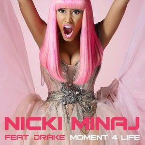 Moment 4 Life - Image: Nicki Minaj Moment 4 Lifej single