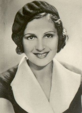 The Rules of the Game - Nora Gregor in 1932. Renoir re-wrote the character Christine for the Austrian actress and reportedly fell in love with her during pre-production.