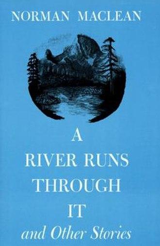 A River Runs Through It (novel) - First edition cover