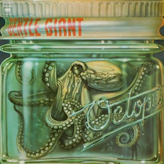 Octopus (Gentle Giant album) - Image: Octopuscoverus