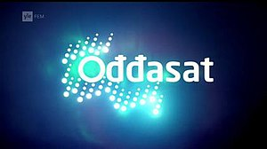 Ođđasat - Title card until mid-2015.