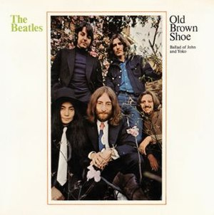 Old Brown Shoe - Image: Old Brown Shoe US picture sleeve