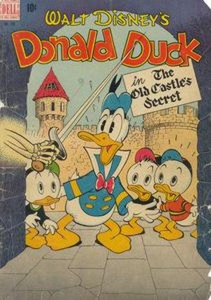 The Old Castle's Secret - Original cover by Carl Barks