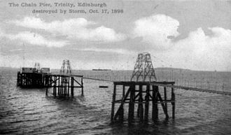 Trinity Chain Pier - The pier