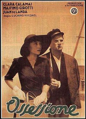 Ossessione - Film poster
