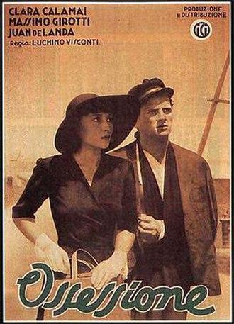 Ossessione - Film poster