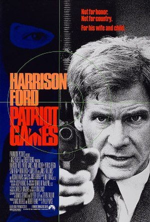 Patriot Games (film) - Theatrical release poster