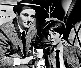 Peter Falk - with Natalie Wood in ''Penelope'' (1966)