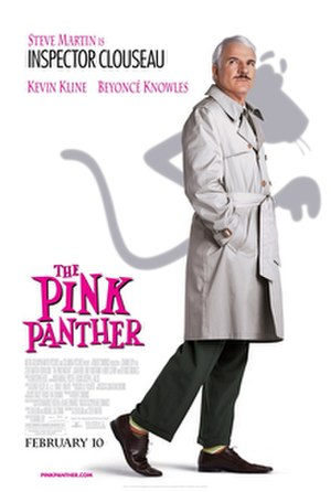 The Pink Panther (2006 film) - Theatrical release poster
