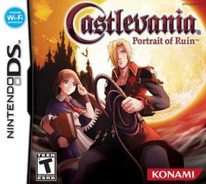 Castlevania: Portrait of Ruin - North American box art