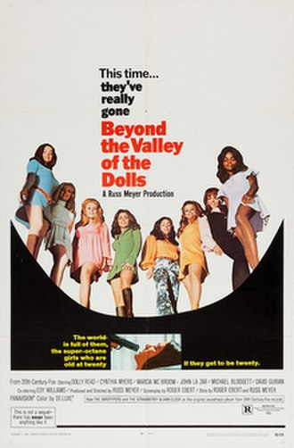 Beyond the Valley of the Dolls - theatrical release poster