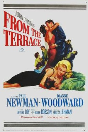From the Terrace - Original Theatrical Poster