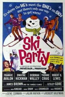 Afiŝo de la filmo Ski Party.jpg