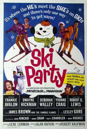Ski Party - theatrical release poster