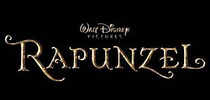 Tangled - Unofficial logo of Rapunzel, before it was changed to Tangled.