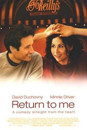 Return to Me - Theatrical release poster