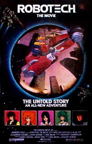 Robotech: The Movie - Film poster