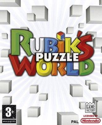 Rubik's Puzzle World - Image: Rubik's Puzzle World Cover