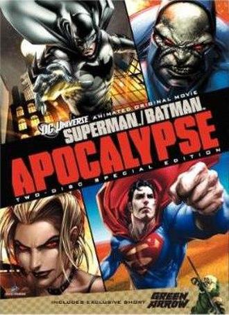 Superman/Batman: Apocalypse - DVD cover
