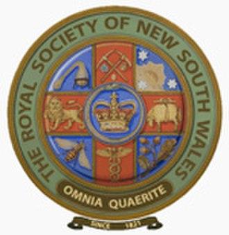 Royal Society of New South Wales - Image: Seal RSNSW