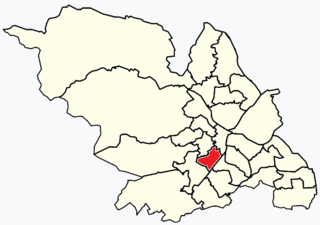 Nether Edge (ward) Electoral ward in the City of Sheffield, South Yorkshire, England