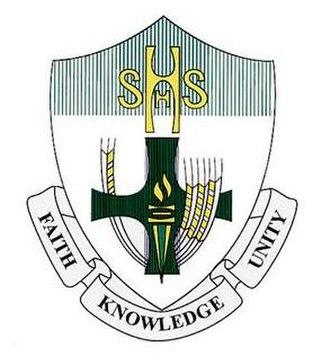 Sacred Heart High School (Yorkton) - Image: Shhscrest