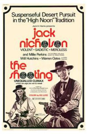 The Shooting - Film poster created by Jack H. Harris Inc.