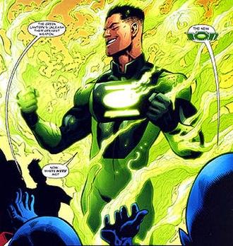 Ion (DC Comics) - Image: Sodam Yat Ion