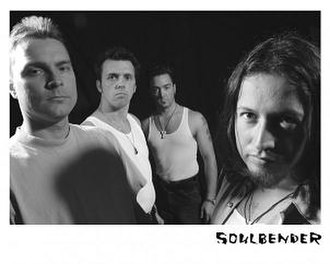 Soulbender - Founding members Dave Groves, Wes Hallam, Nick Pollock, and Michael Wilton