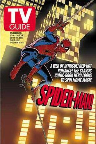 John Romita Sr. - TV Guide (April 17 – May 3, 2002): Cover by John Romita Sr.