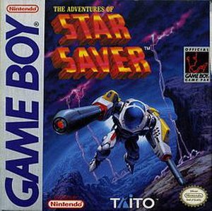 The Adventures of Star Saver - North American cover art