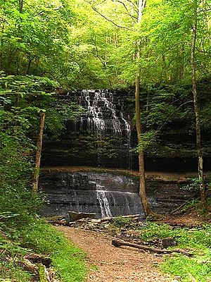 Stillhouse Hollow Falls State Natural Area - Image: Stillhouse hollow falls